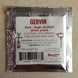 Gervin - GV4 - High Alcohol Wine Yeast